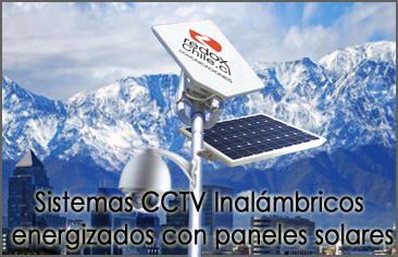 Sistemas cctv inalambricos paneles solares