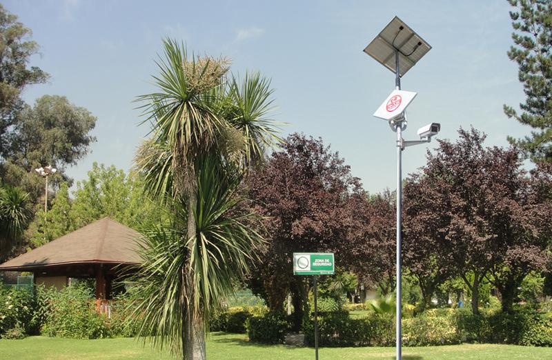 cctv inalambrico panel solar